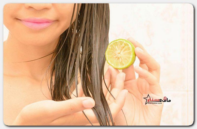فوائد قشر الليمون للشعر