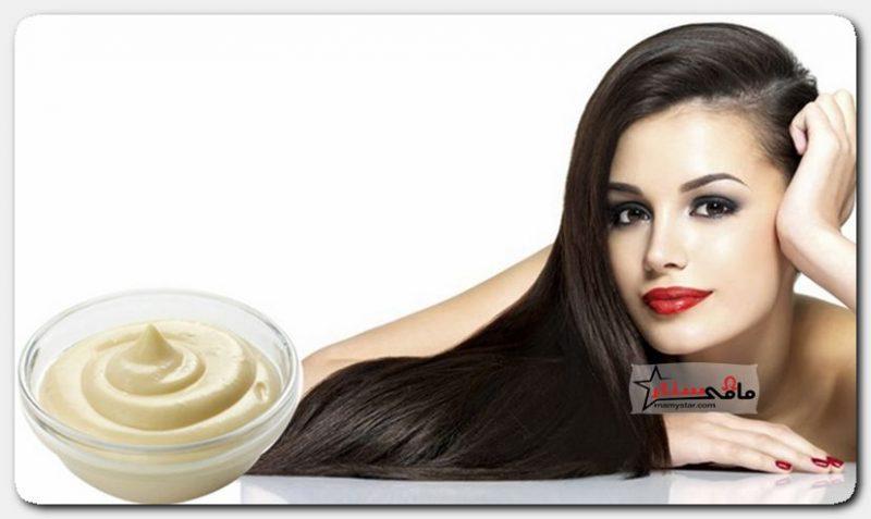 mayonnaise for hair mask