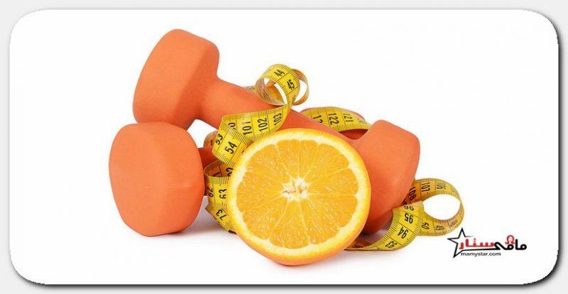 فوائد قشر البرتقال للتخسيس