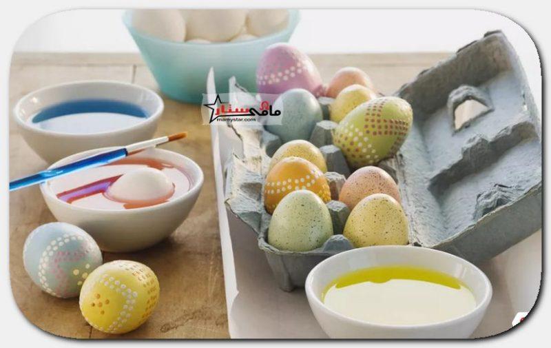 طرق تلوين بيض عيد الفصح