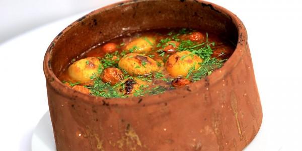 طريقة عمل البطاطس باللحمة