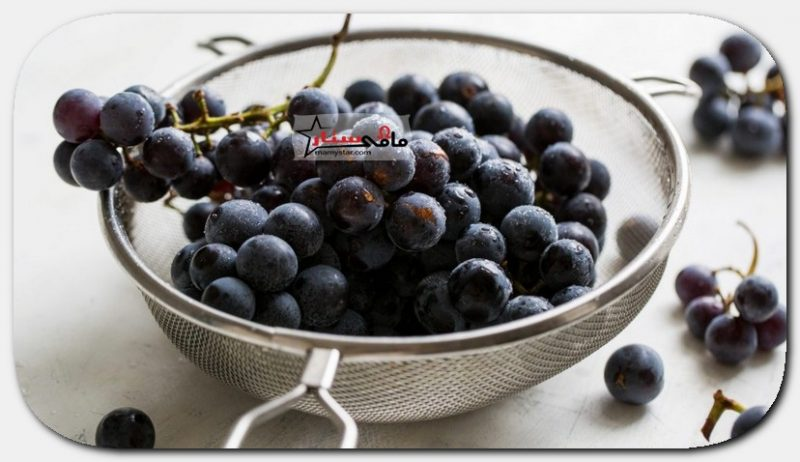black grapes for skin