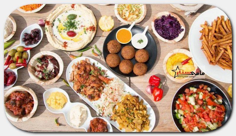 جدول اكلات رمضان