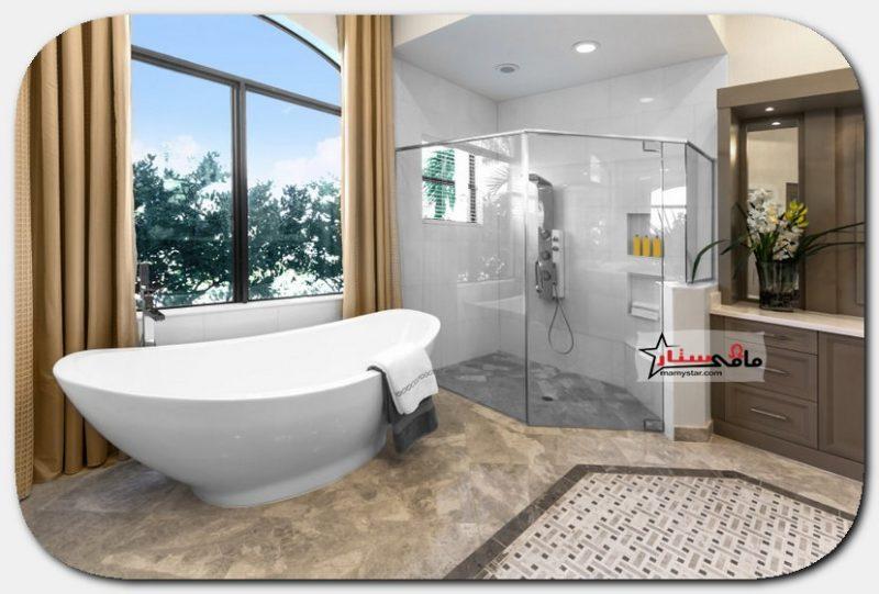 تصاميم حمامات حديثة 2021