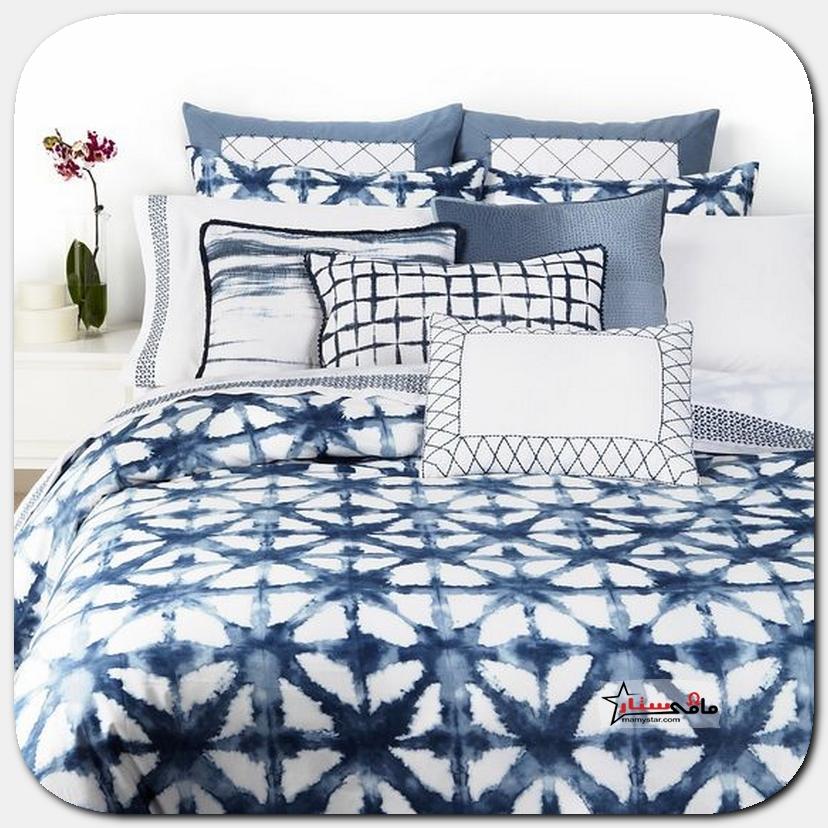 ديكورات غرف نوم باللون الازرق 2021