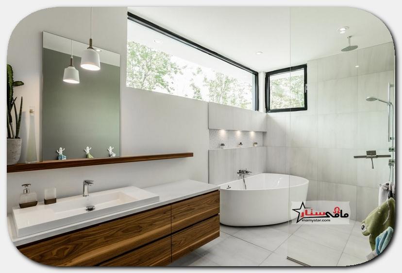 اجمل تصاميم حمامات مودرن 2021