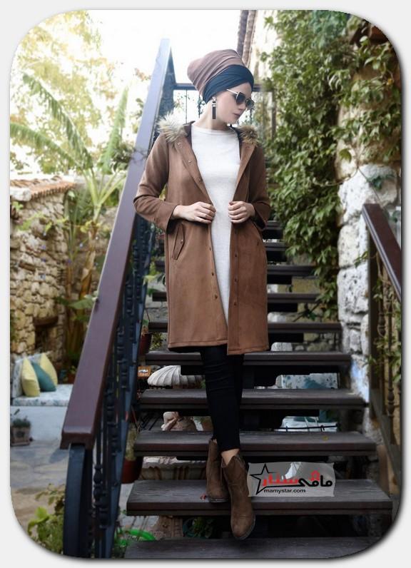 ملابس تركية شتوية للمحجبات 2021 (9)