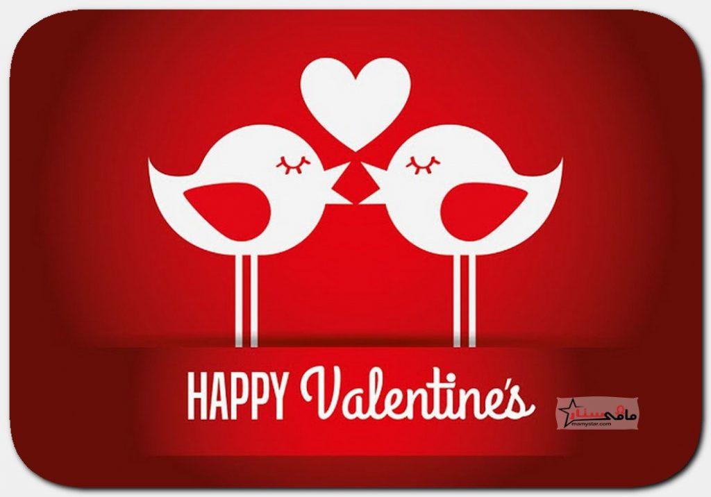 حالات عيد الحب