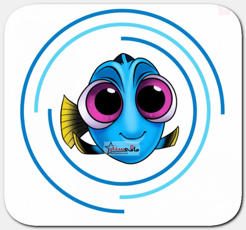 رسم بيبي السمكة دوري من كرتون البحث عن دوري