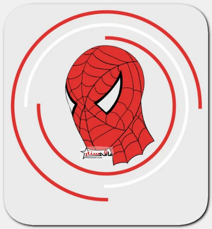 how to draw spiderman face