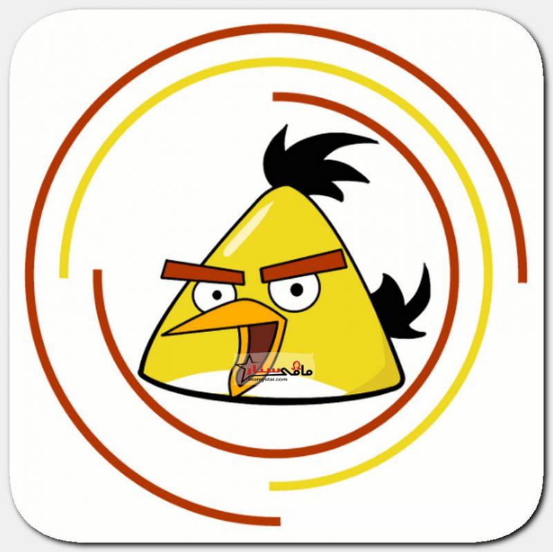 كيف ترسم الطائر الأصفر من سلسلة الطيور الغاضبة