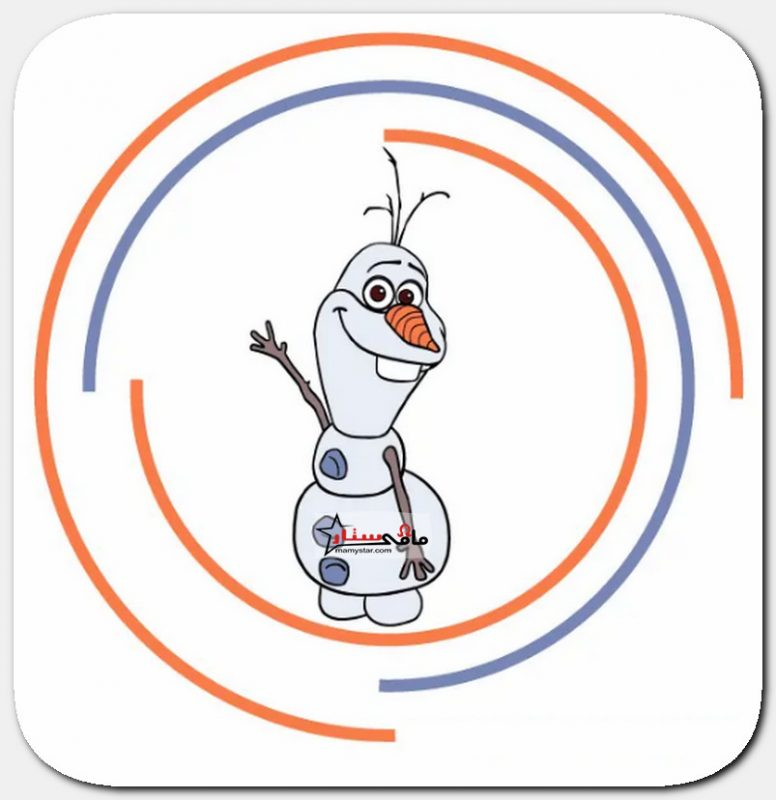 how to draw olaf from frozen