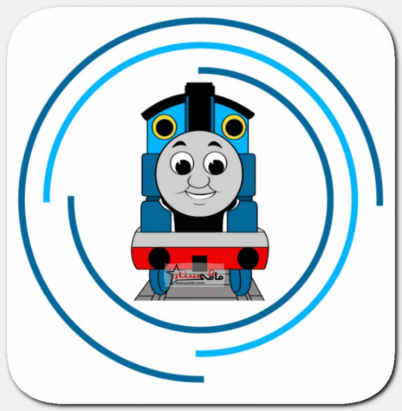 how to draw thomas the train
