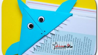How to make a bookmark Baby Shar