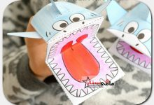 How to make a shark doll for children