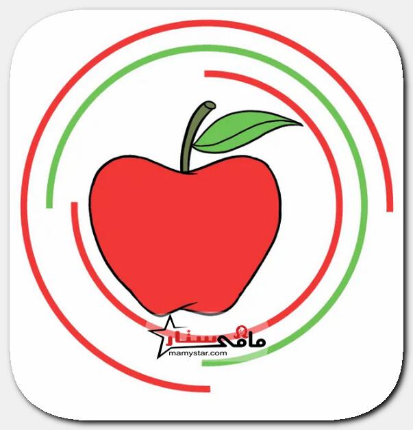 كيفية رسم التفاح للاطفال بالخطوات