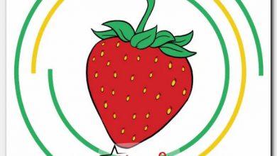 طريقة رسم فراولة بالخطوات خطوة بخطوة