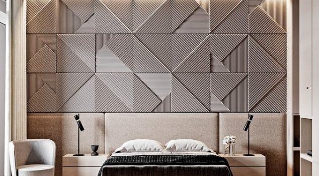 ديكورات جدران غرف نوم 2022