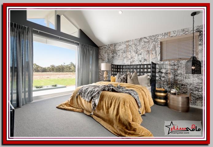 ديكور حائط غرفة النوم 2022
