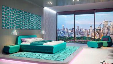 احدث الوان غرف النوم حوائط 2022