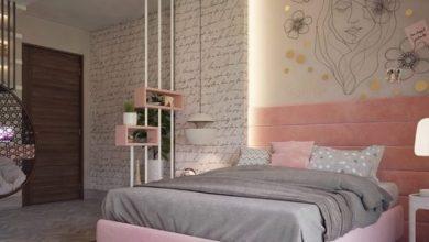 ديكورات حوائط غرف نوم 2022