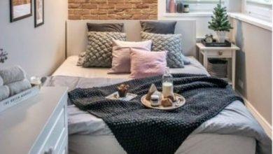 تصميم غرفة نوم صغيرة 2022