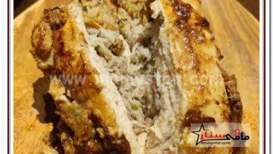 طريقة عمل الدجاج اللبناني