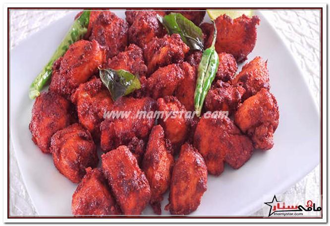 طريقة عمل دجاج 65 الهندى