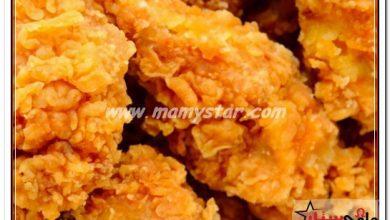 طريقة عمل كرسبي الدجاج المقلي