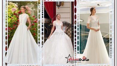 فساتين بيضاء للعروس 2022