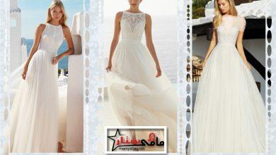 صور فساتين زفاف بيضاء 2022