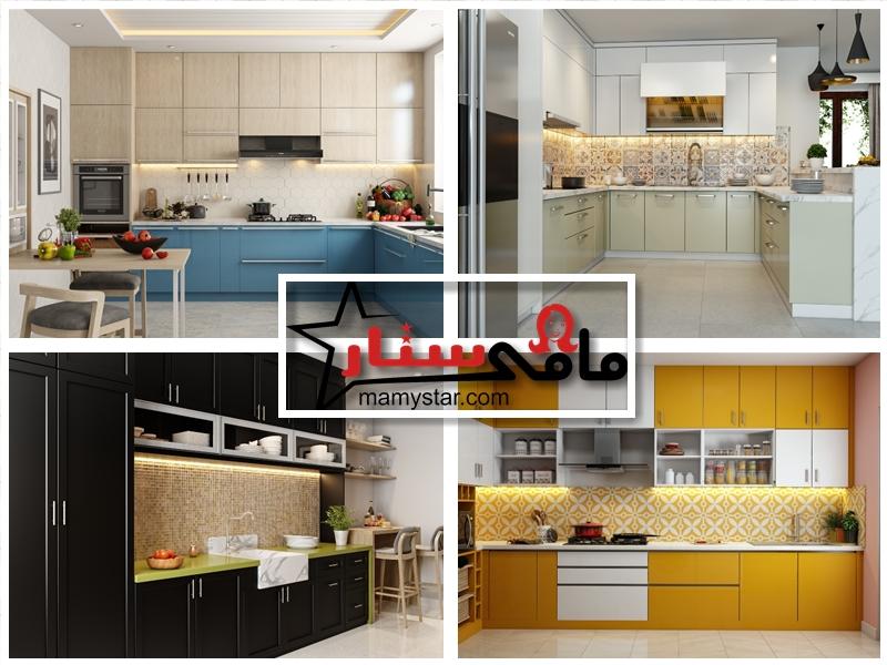 modern kitchen colors