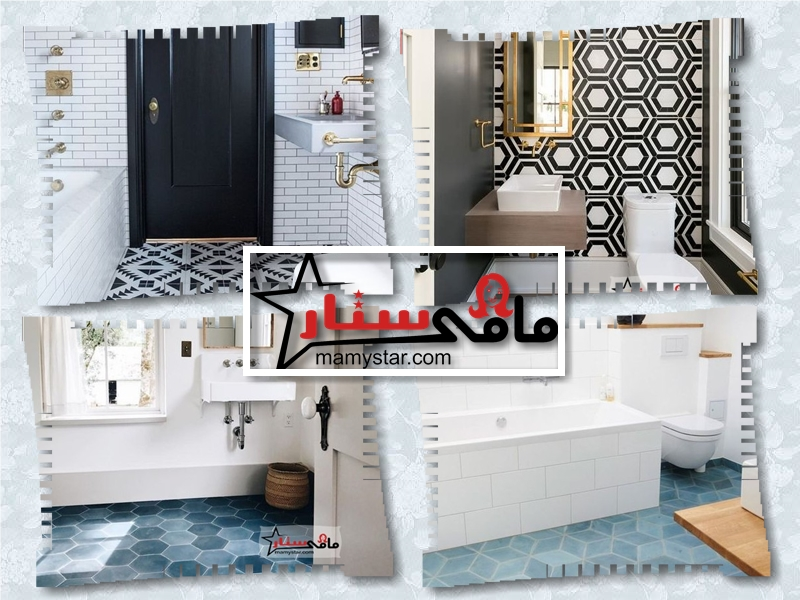 تصاميم وألوان بلاط حمامات 2022